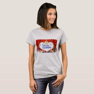 T-shirt L'amour de Père Noël de Joyeux Noël