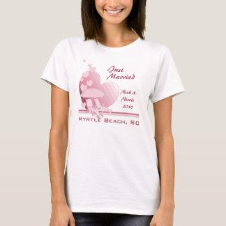 T-shirt L'amour de rivage poussiéreux s'est levé