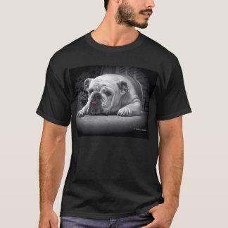 T-shirt L'amour d'un bouledogue
