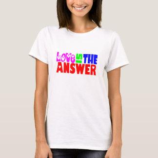 T-shirt L'amour est la réponse - W