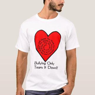 T-shirt L'amour fait toujours le monde circuler