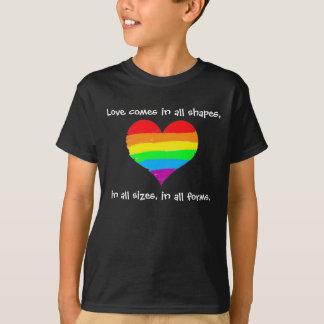 T-shirt L'amour vient dans toutes les formes