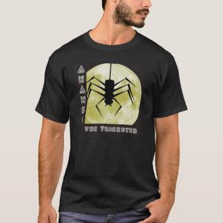 T-shirt L'Anansi file plus trickster plus spider