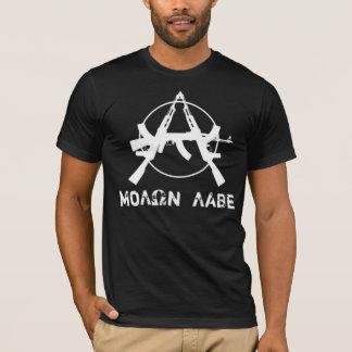 T-shirt L'anarchie de Molon Labe lance la version sans dos