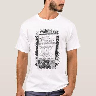 T-shirt L'anatomie de la mélancolie