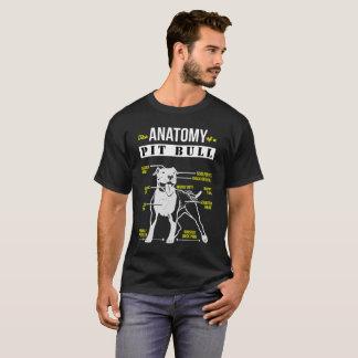 T-shirt L'anatomie d'un pitbull