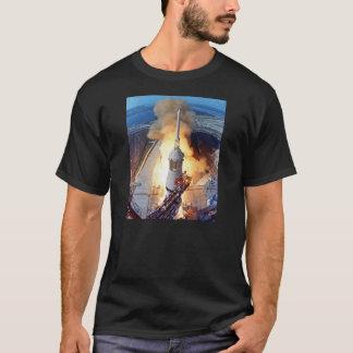 T-shirt Lancement de Rocket d'alunissage de la NASA Apollo