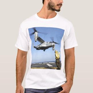 T-shirt Lancements d'un balbuzard MV-22 de l'USS Nassau