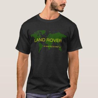 T-shirt Land Rover - un monde à servir