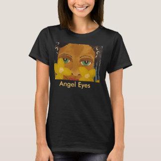 T-shirt L'ange d'art noir d'Afro-américain observe le