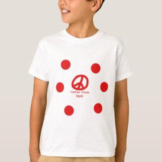 T-shirt Langue et conception créoles haïtiennes de symbole