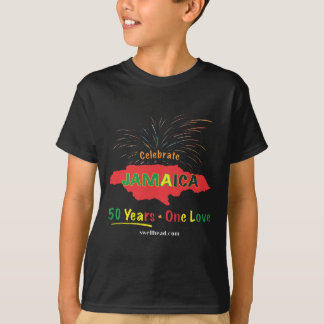 T-shirt L'anniversaire de la Jamaïque cinquantième par