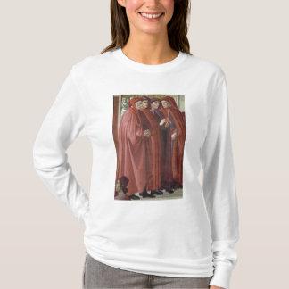 T-shirt L'annonce à St Zacharias (fresque) (détail