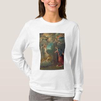 T-shirt L'annonce (huile sur la toile) 2