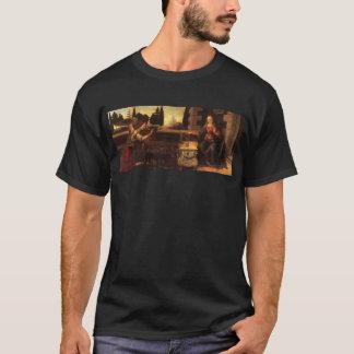T-shirt L'annonce par Leonardo da Vinci C. 1472-1475