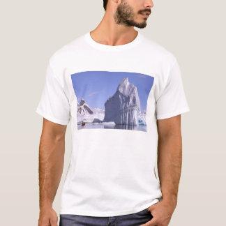 T-shirt L'Antarctique, péninsule antarctique. Zodiak et