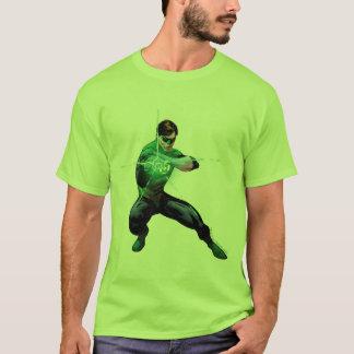 T-shirt Lanterne verte et anneau rougeoyant