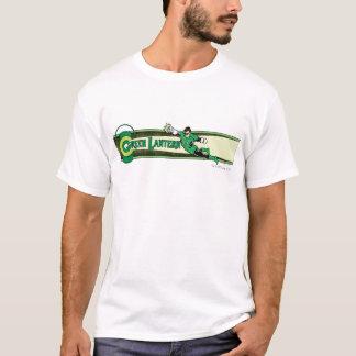 T-shirt Lanterne verte et logo
