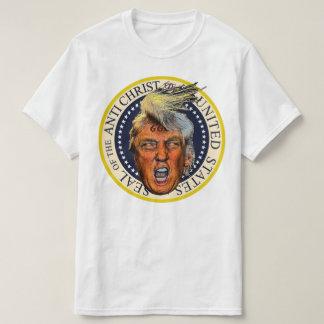 T-shirt L'anti Président Trump Seal de l'anti Christ