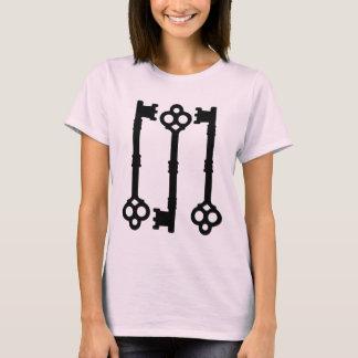 T-shirt L'antiquité verrouille gothique mignon
