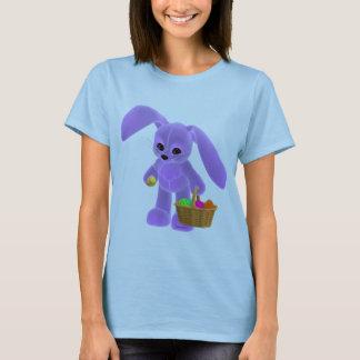 T-shirt Lapin de Pâques avec le panier