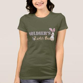 T-shirt Lapin de Pâques du soldat