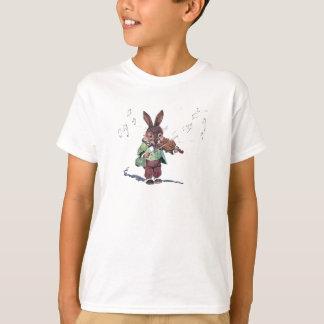 T-shirt Lapin jouant le violon