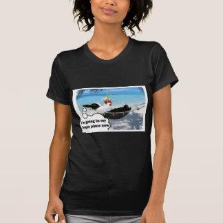 T-shirt Lapin néerlandais dans l'endroit heureux