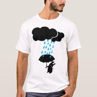 T-shirt Lapin sous la pluie