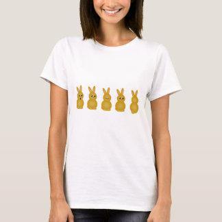 T-shirt Lapins de Brown Pâques