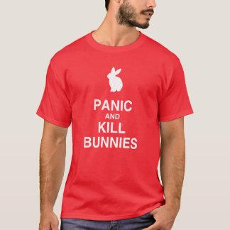 T-shirt Lapins de panique et de mise à mort