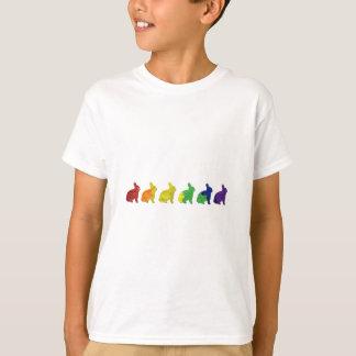 T-shirt Lapins gais et lesbiens de fierté