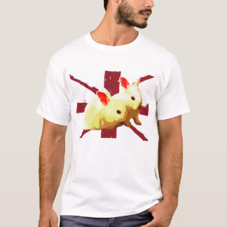 T-shirt Lapins unis
