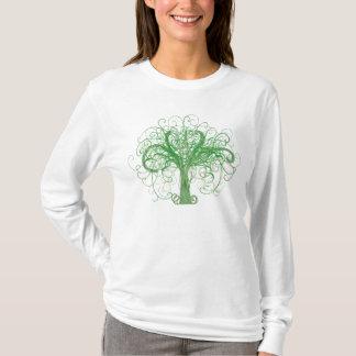 T-shirt L'arbre de Lydia de la vie (avant et dos)