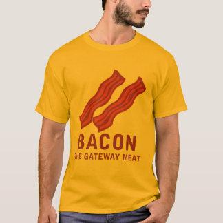 T-shirt Lard, la viande de passage