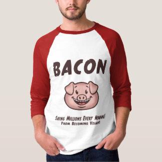 T-shirt Lard - végétalien