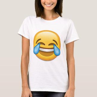 T-shirt Larmes d'emoji de joie drôles