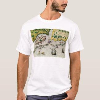 T-shirt L'arrivée de l'anglais en Virginie