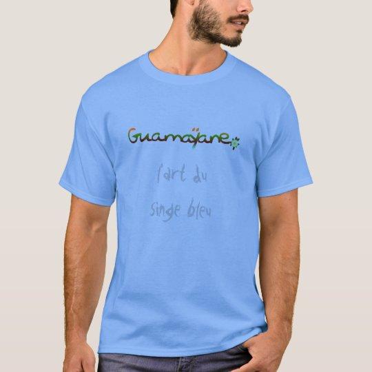 T-shirt L'art du singe bleu© de Guamayane© !