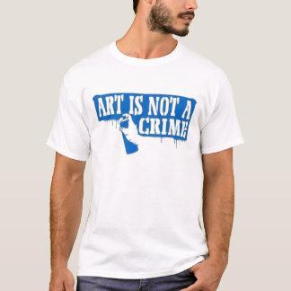 T-shirt L'art n'est pas un crime