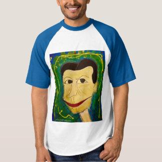 T-shirt L'art original amical de Guy~~ de NJPunks