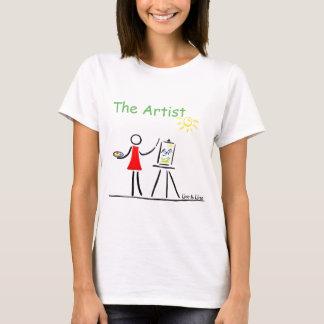 T-shirt L'artiste
