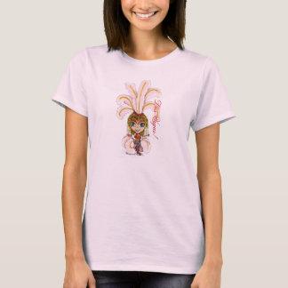 T-shirt Las Vegas dansant la fille de scène