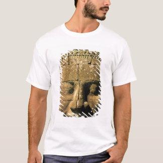 T-shirt L'Asie, Cambodge, Siem Reap. Angkor Thom, têtes de