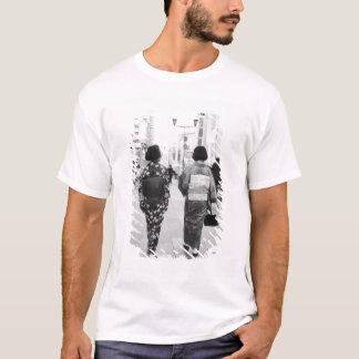 T-shirt L'Asie, Japon, Tokyo. Geishas sur le Ginza.