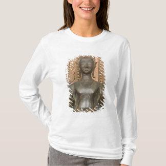 T-shirt L'Asie, les Laotiens, Vientiane, Bouddha en bronze