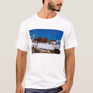T-shirt L'Asie, Thibet, Lhasa, rouge 2 du Palais du Potala