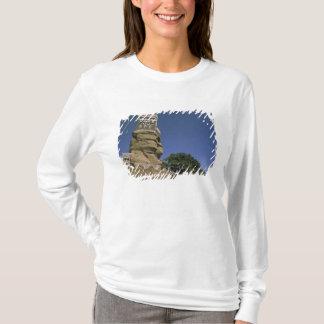 T-shirt L'Asie, Yémen, Wadi Dhar. Palais de roche, ou Al