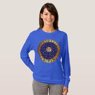 T-shirt L'astrologie de zodiaque signe et se tient le