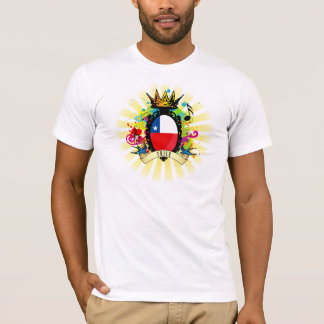 T-shirt latin de musique du Chili once